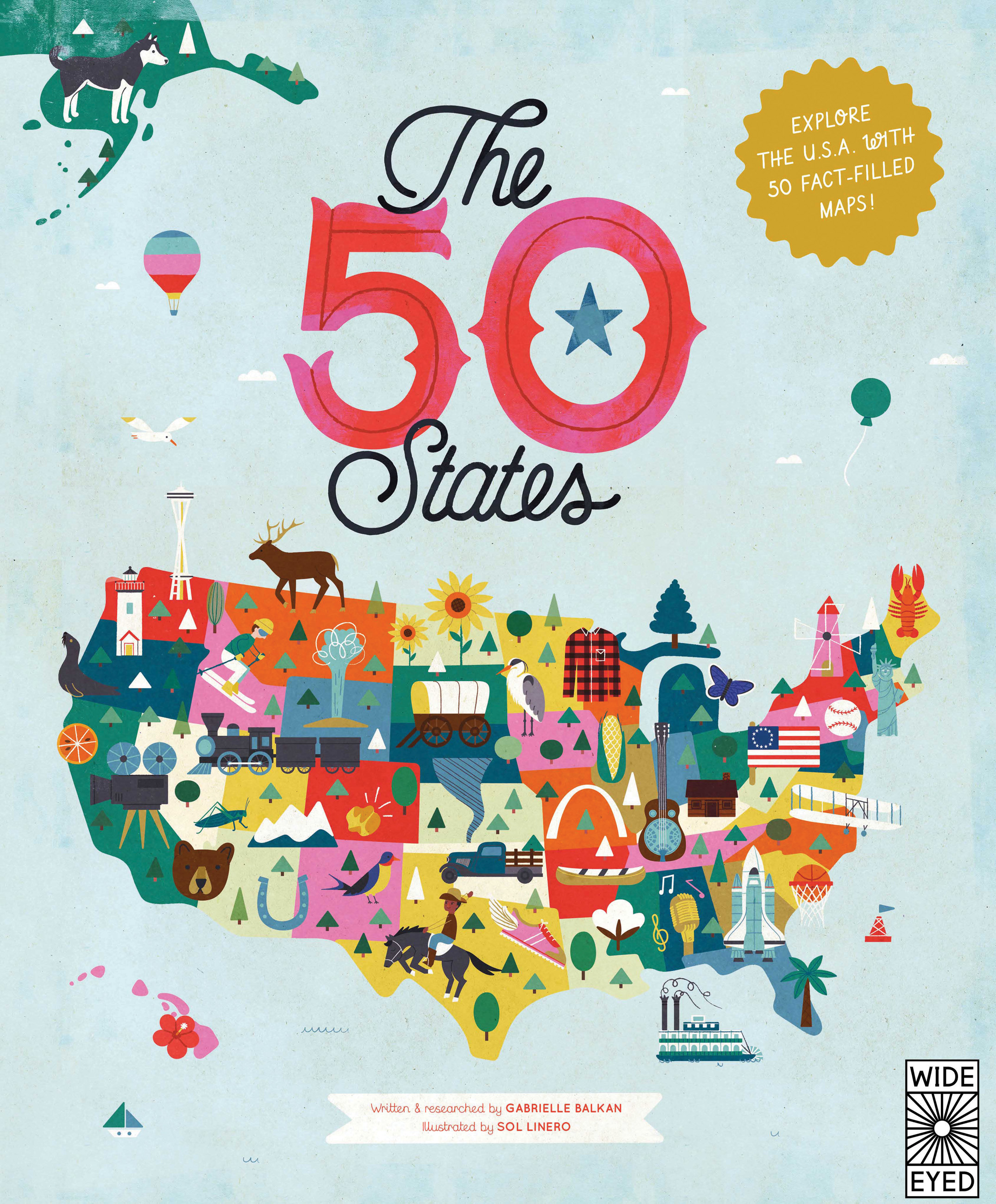 Exploring The States Nonfiction Monday - Map of the us 50 states
